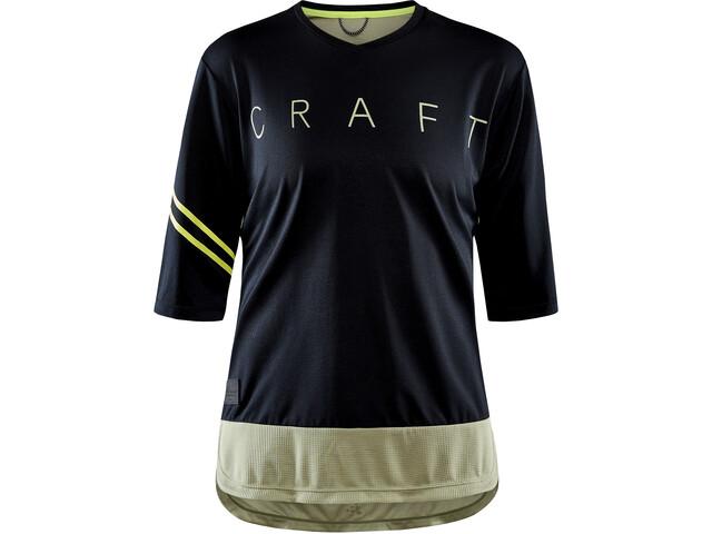 Craft Core Offroad XT SS Jersey Women, negro/verde